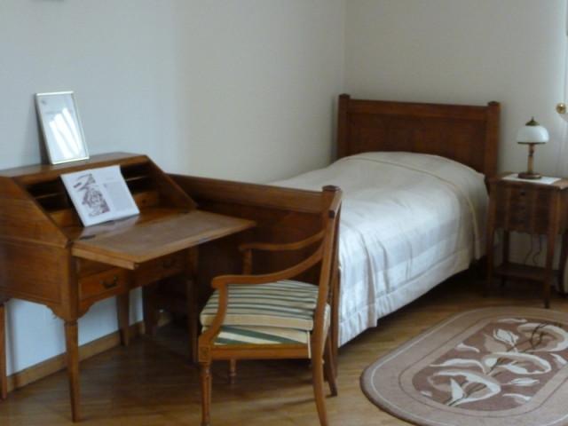 Комната Иоанна Павла II в Вигрском монастыре