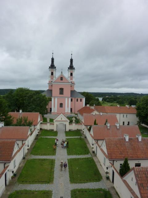 Монастырский собор в Виграх - вид с колокольни