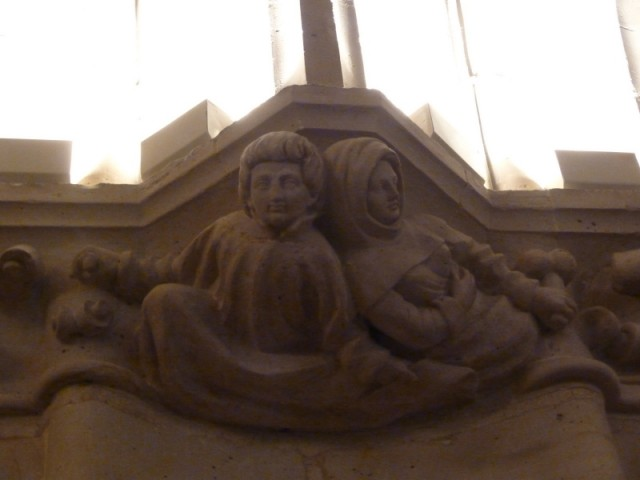 Абеляр и Элоиза в Зале Стражей