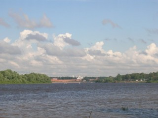 Вид на Кремль от Городища
