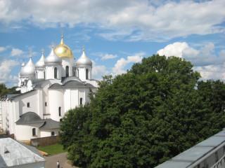 Софийский собор - вид со Звонницы