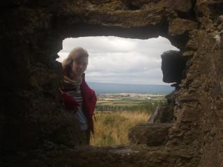 Rock of Dunamase - среди развалин