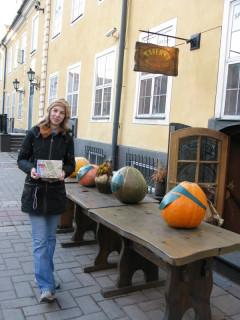 Остатки Хэллоуина у Депо Св.Якова