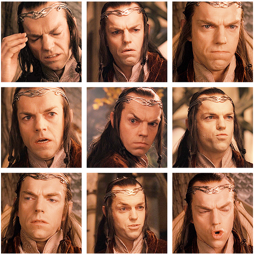 elrond reactions