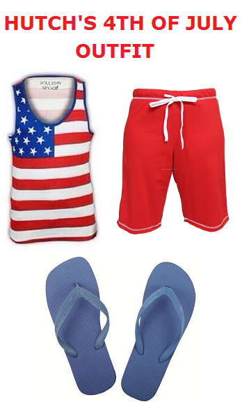 Hutch's 4th Of July Outfit