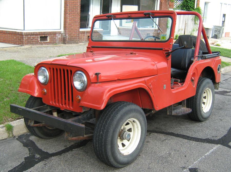 Hutch's Jeep CJ