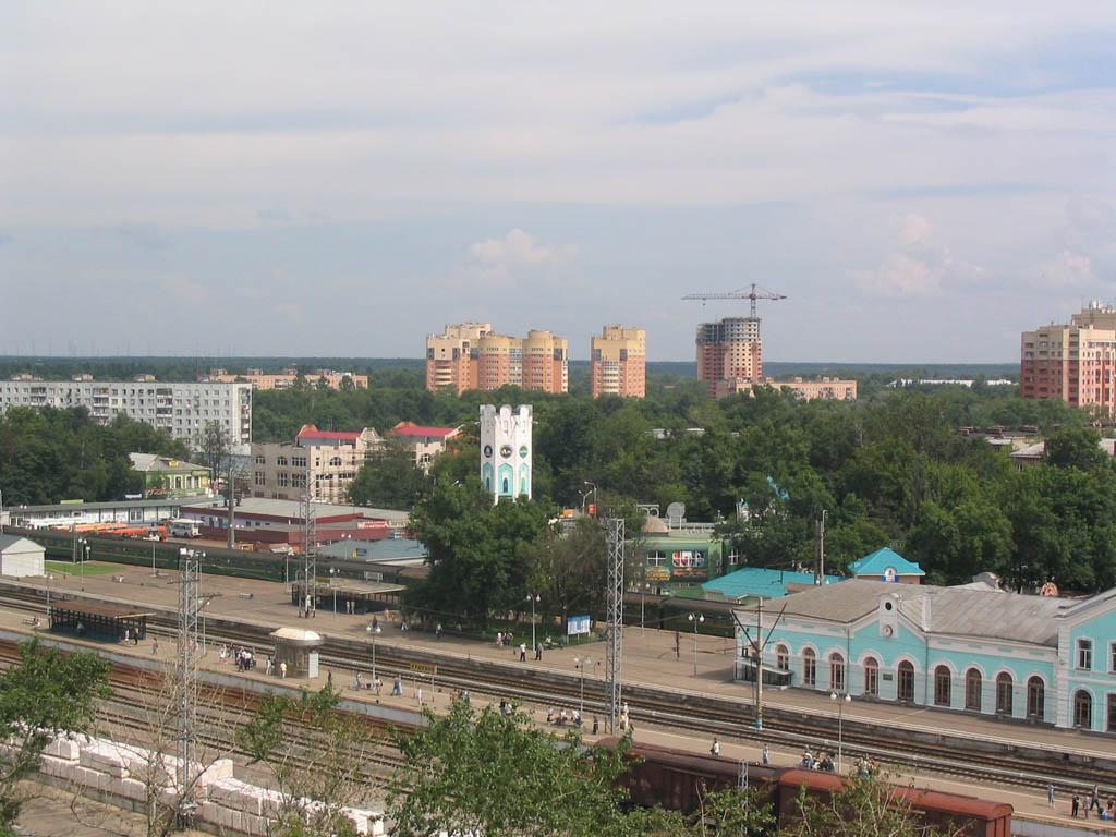 где встречаются фото вокзала пушкино моск обл перед