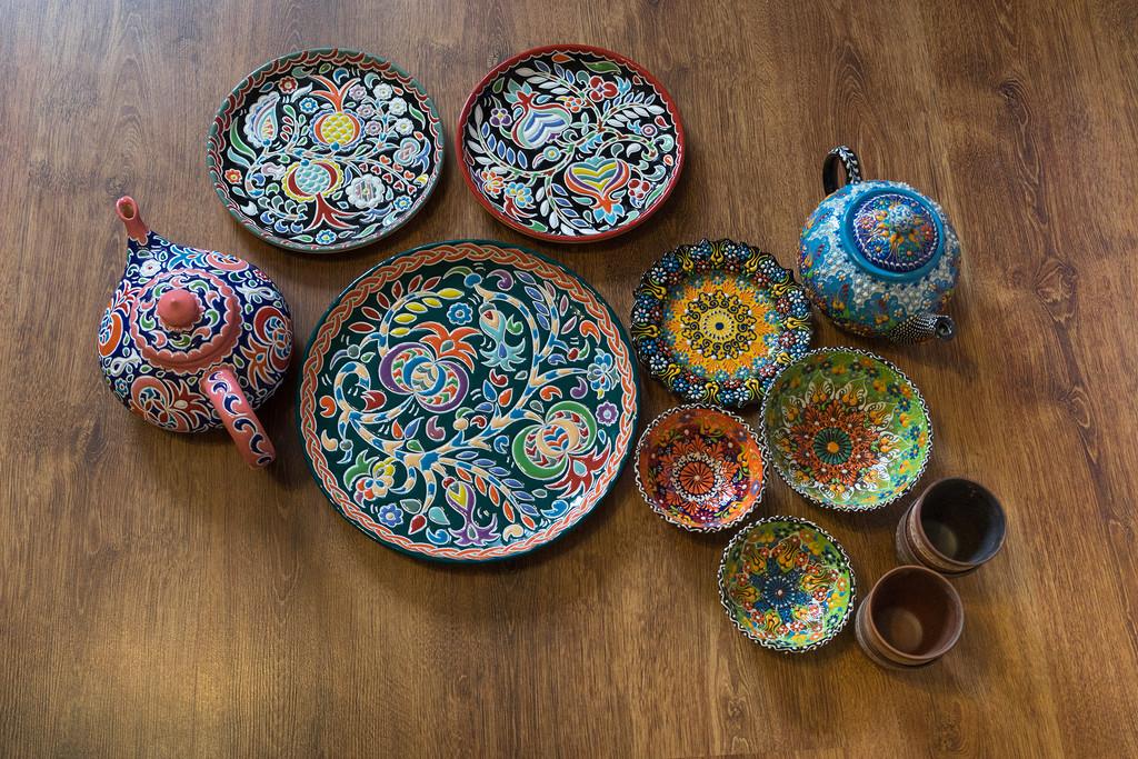 Сувенирная посуда из Казани