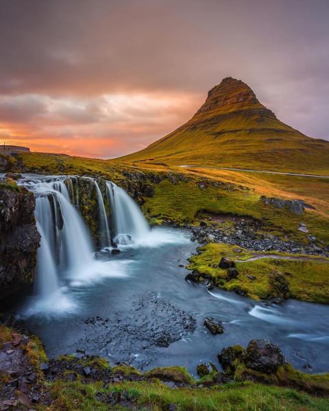 Красивые водопады сказка