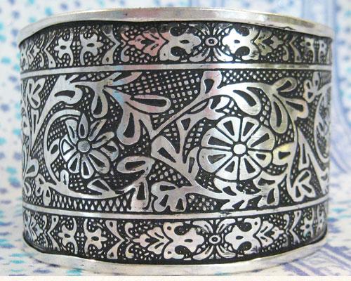 браслет латунь под серебро