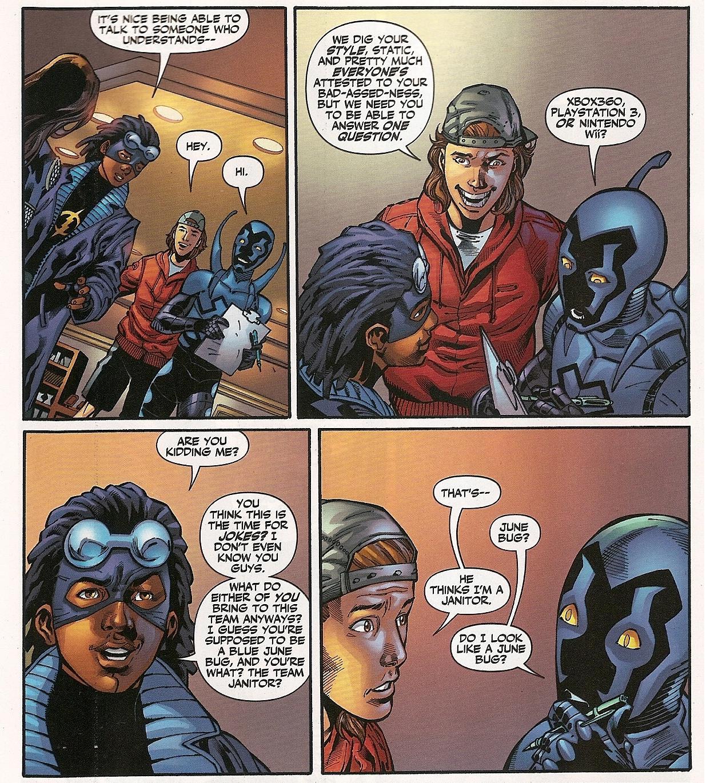 Static Shock Meets Teen Titans 57
