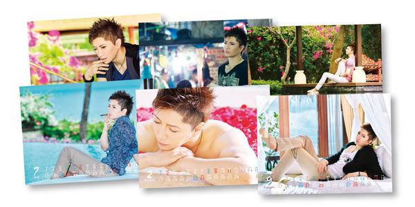 Gackt 2014 Calendar The calendar was shot in Bali