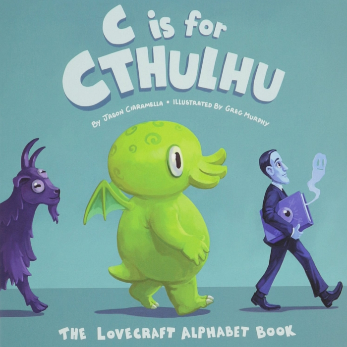 The Lovecraft Alphabet Book cover