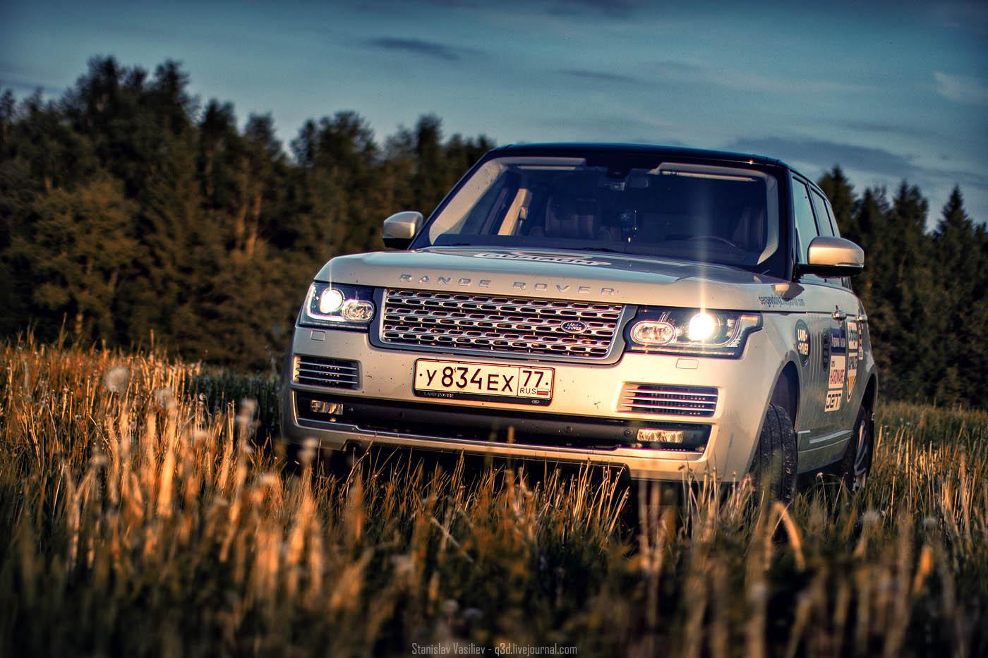 Range Rover Vogue SE 2012 4.4