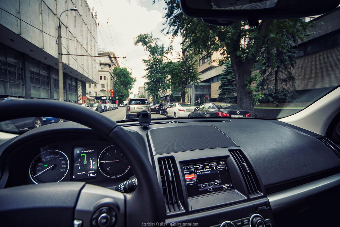 Land Rover Freelander 2 тест драйв SD4 Dynamic