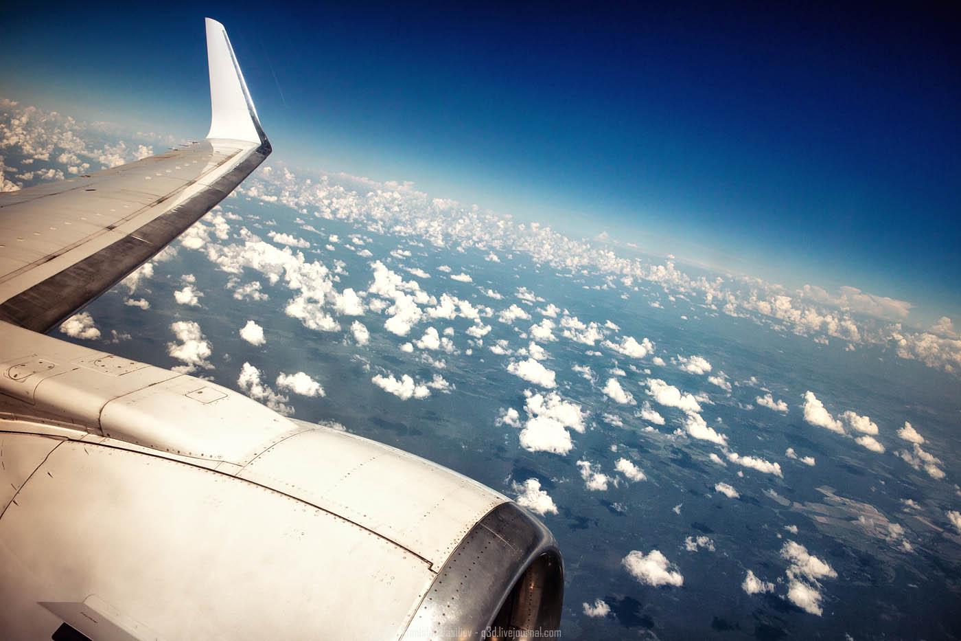 Запрет снимать в самолёте