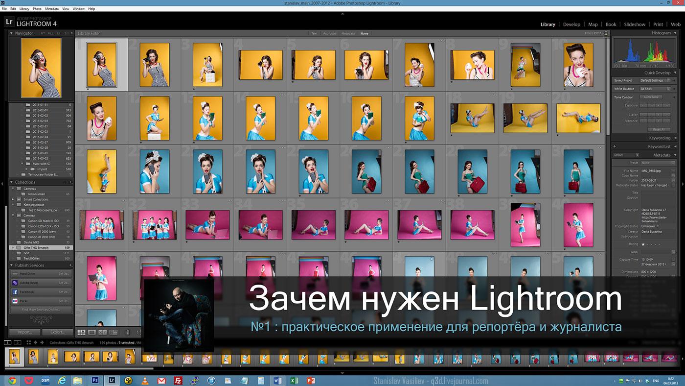 Уроки Lightroom 4