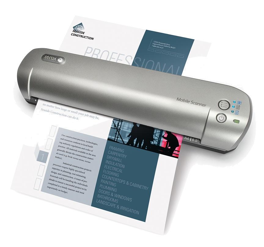 Мобильный сканер Xerox