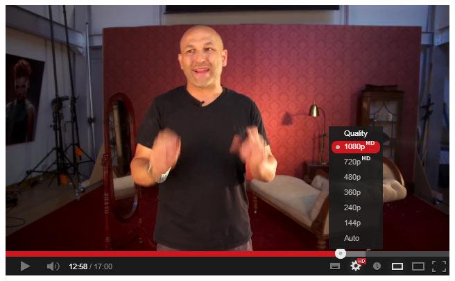 Настройки Youtube для HD