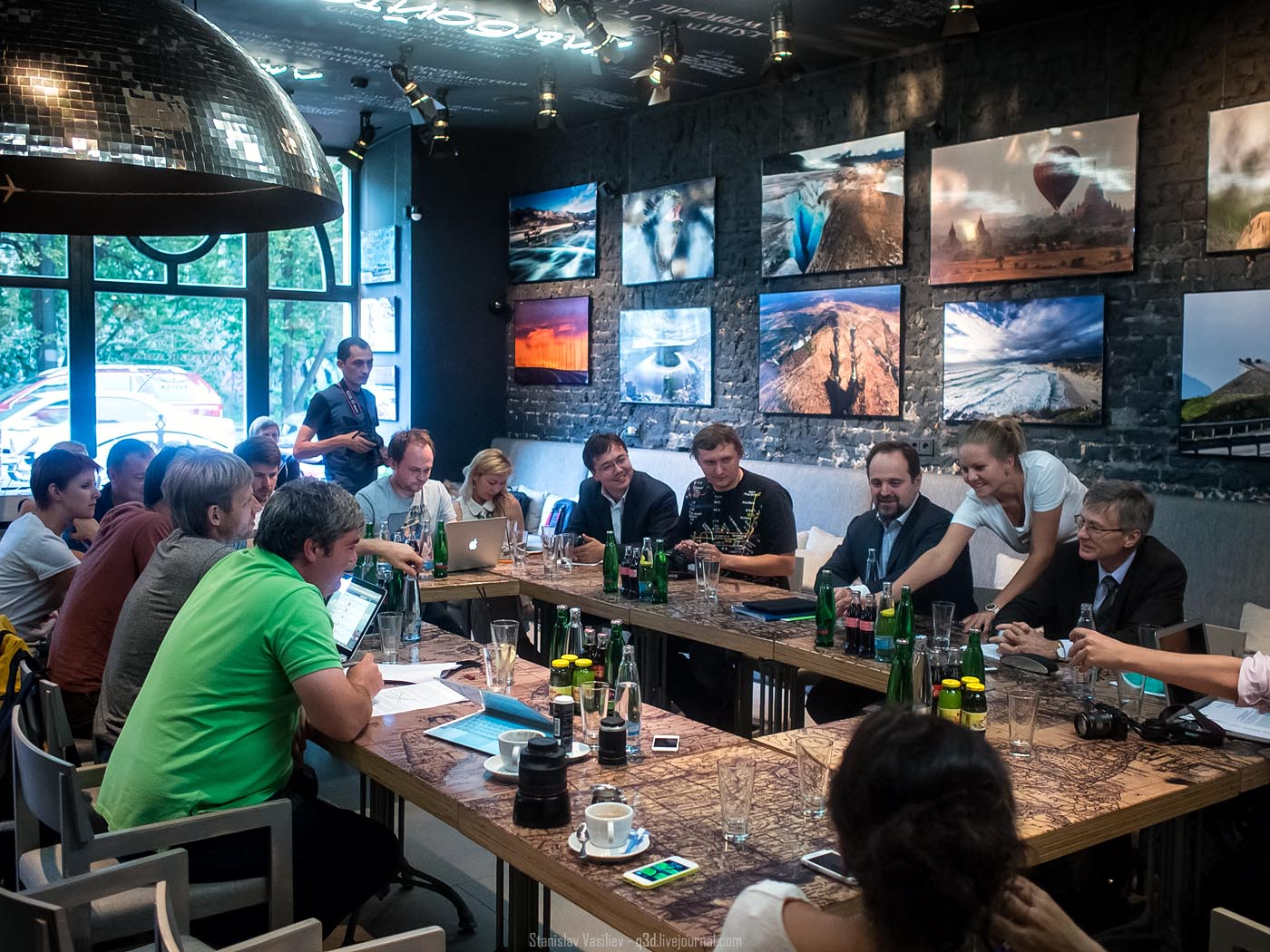 Встреча блогеров с Министром природных ресурсов и экологии РФ