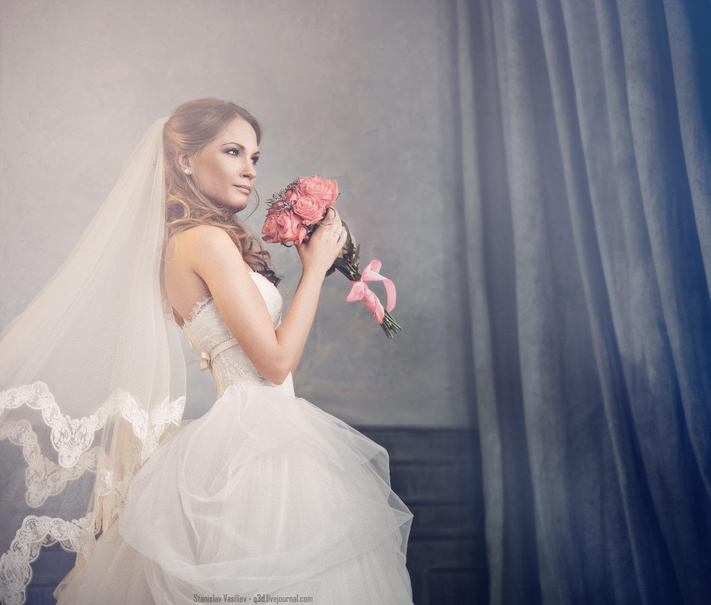 Свадебное фото - МК Дарьи Булавиной