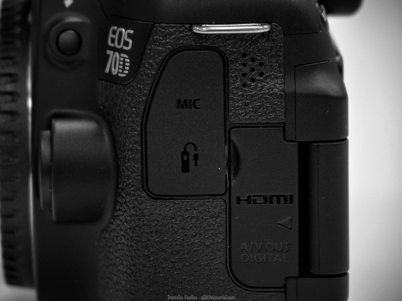 Canon 70D - обзор особенностей, моё мнение