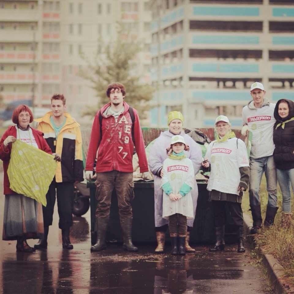 Блогер против мусора - Щербинка - 2013