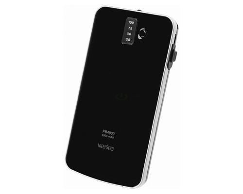 Как увеличить время работы смартфона: внешняя батарея Interstep PB4000