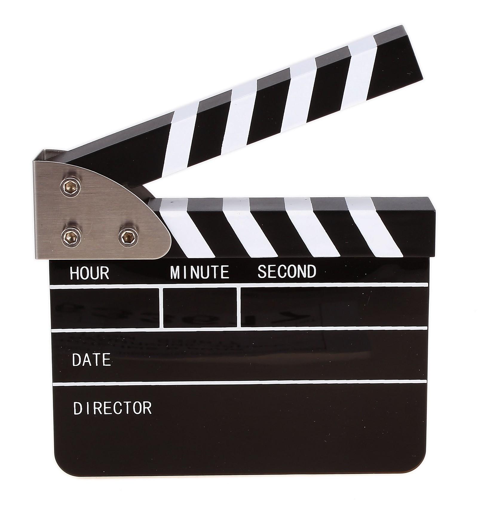Как сделать хлопушку для кино из картона