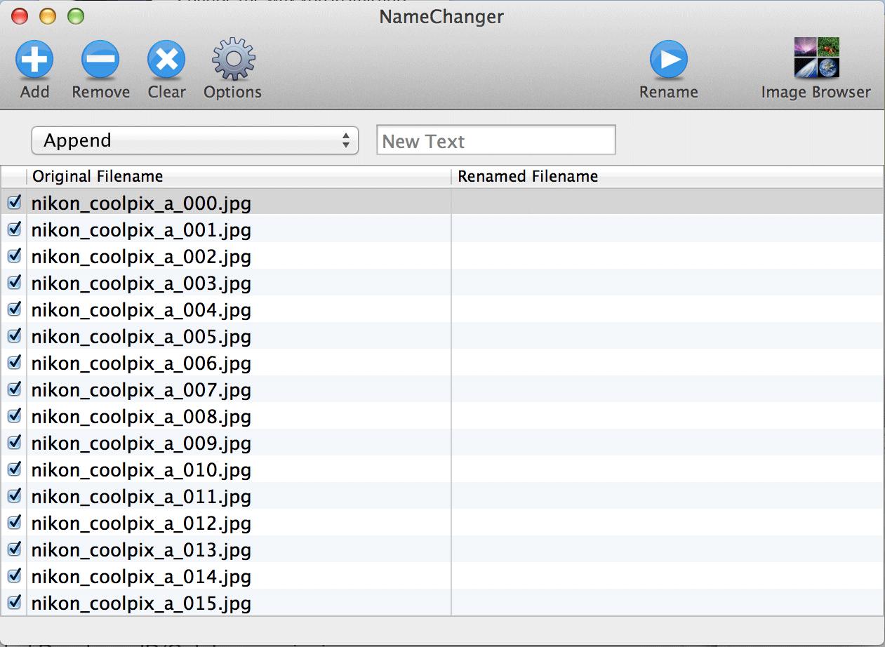 Скачать пакетное переименование файлов