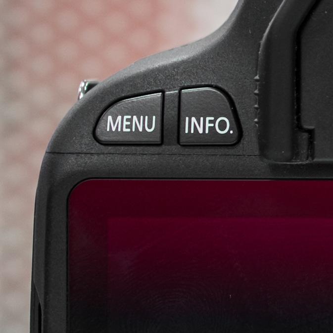Canon 100D: обзор особенностей, моё мнение - кнопки управления