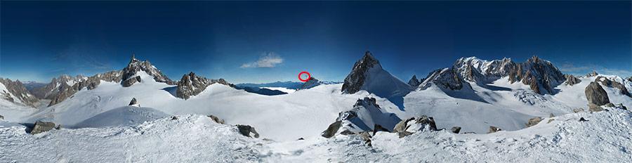 Самая большая панорамная фотография в мире