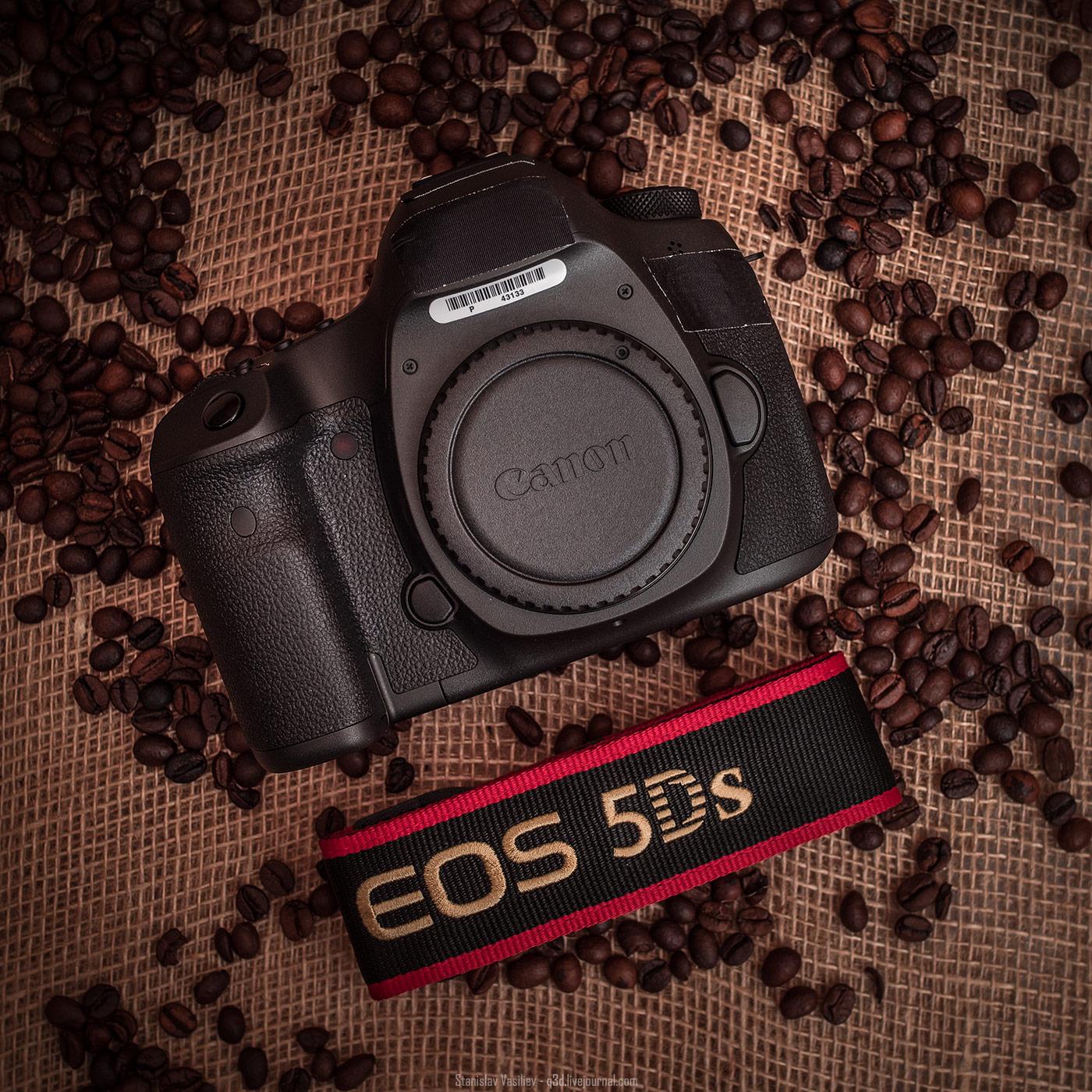 Инженерный образец Canon 5Ds - обзор