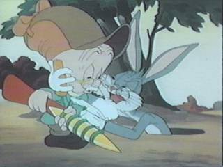 [JPEG  image: A frame from 'The Old Grey Hare']