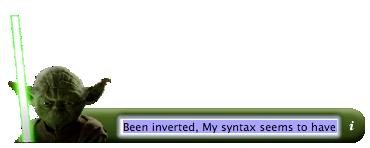 Yoda widget screenshot