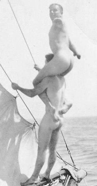 Close-up of Sailing Boys
