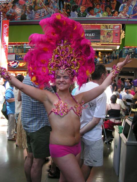 Carnivale girl