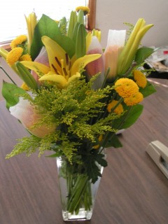 Get well flowers from Bliss 1