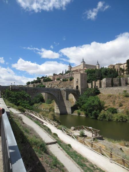 Puente de Alcantara and Alcazar, Toledo