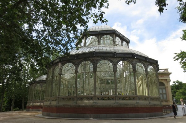 The Crystal Palace in the Parc Retiro