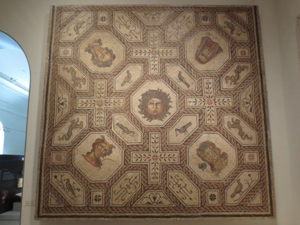 Mosaic of Medusa and the Seasons