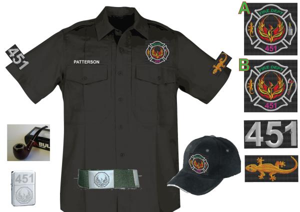 Fahrenheit 451 Uniform Ideas