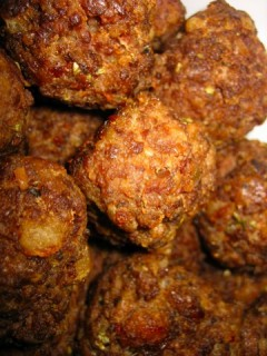 I made meatballs