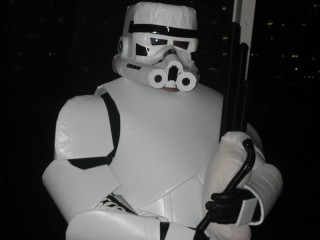 My Scottish Stormtrooper costume