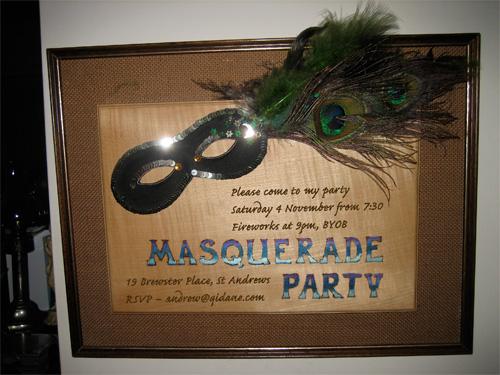 Party Invite 2006
