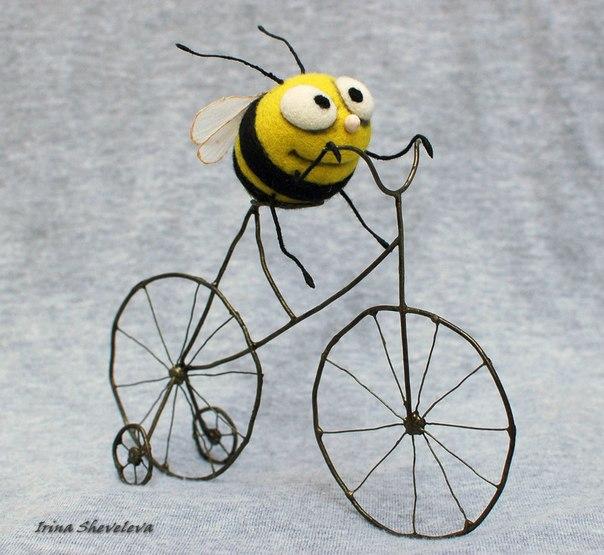 Пчелки игрушки своими руками