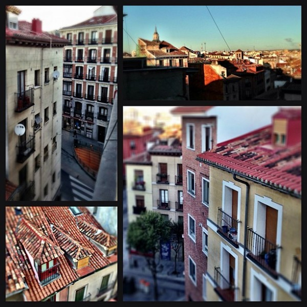 madrid roofs