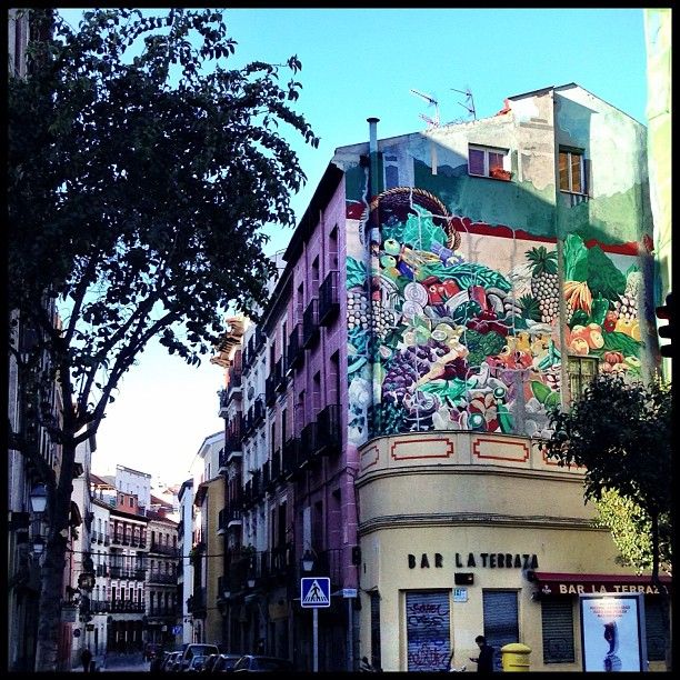 madrid around the corner