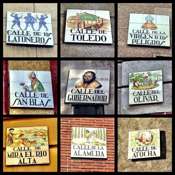 madrid signs