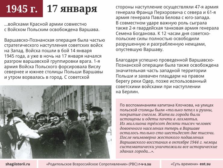 17 января 1945 года